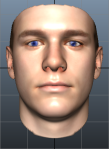 Orta's face, generated from his DNA